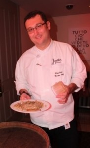 Dustin Osuch and Mushroom Risotto