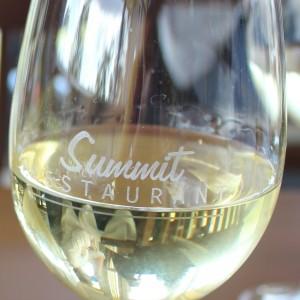 a glass of Mandala Chardonnay