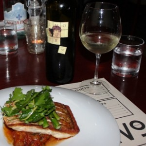Pinot Gris and Baked Red Snapper