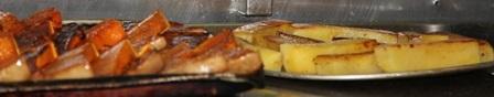 Chill GC roasted pumpkin and fondant potato