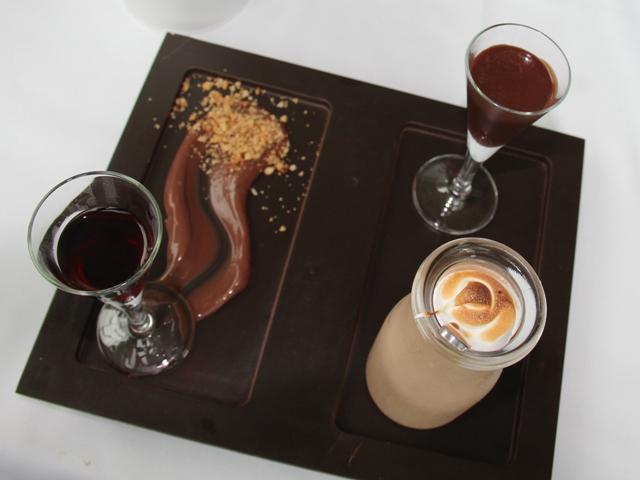 Artichoke dessert port frangelico chocol thickshake04